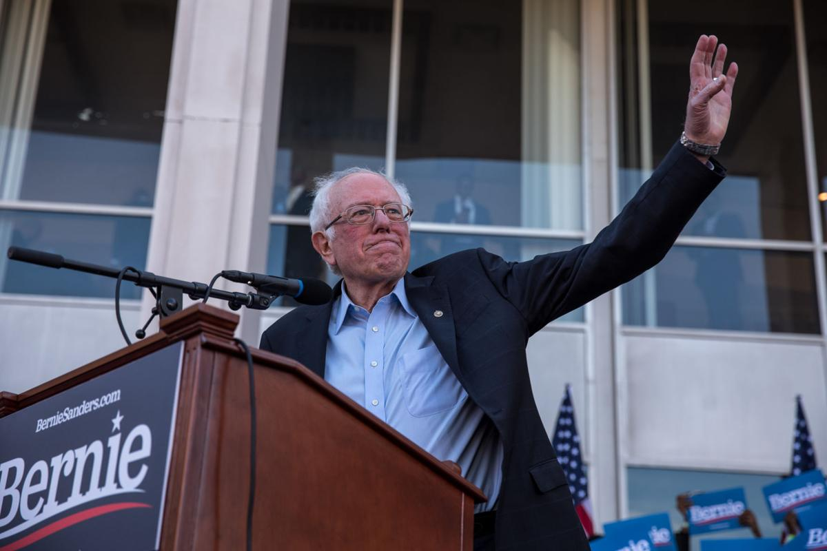 Bernie Sanders rally at Morehouse