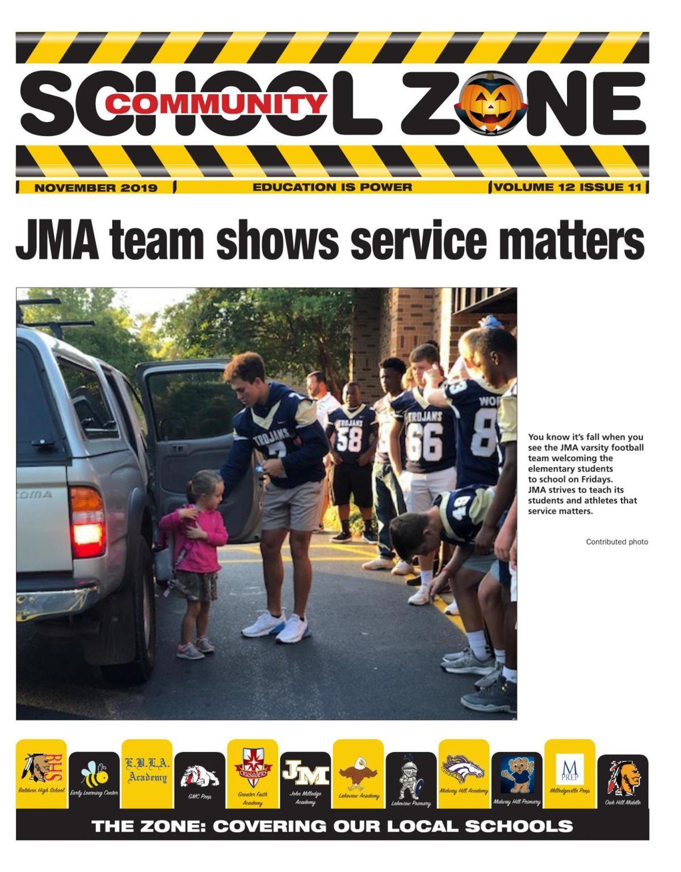 Nov. 2019 Community School Zone