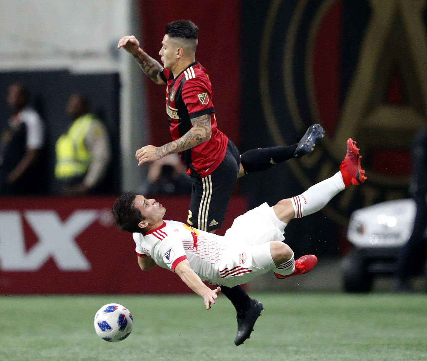 APTOPIX Red Bulls Atlanta United Soccer