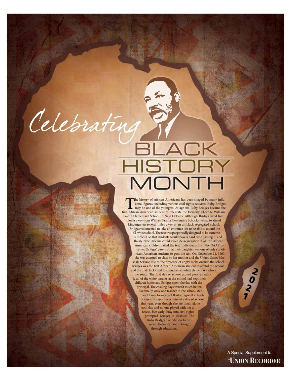 Black History Contest 2021