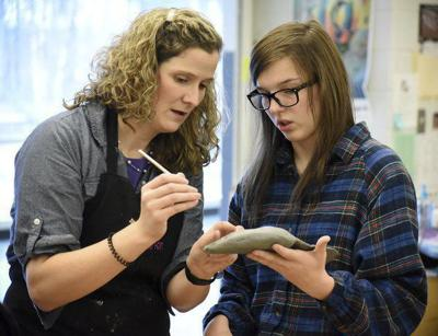 New kiln expands artistic possibilities for Coahulla Creek students