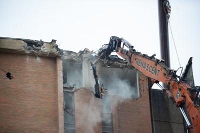 Morrill Hall demolition