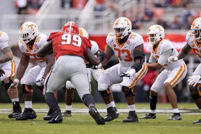 Offensive line - Tennessee vs. Georgia