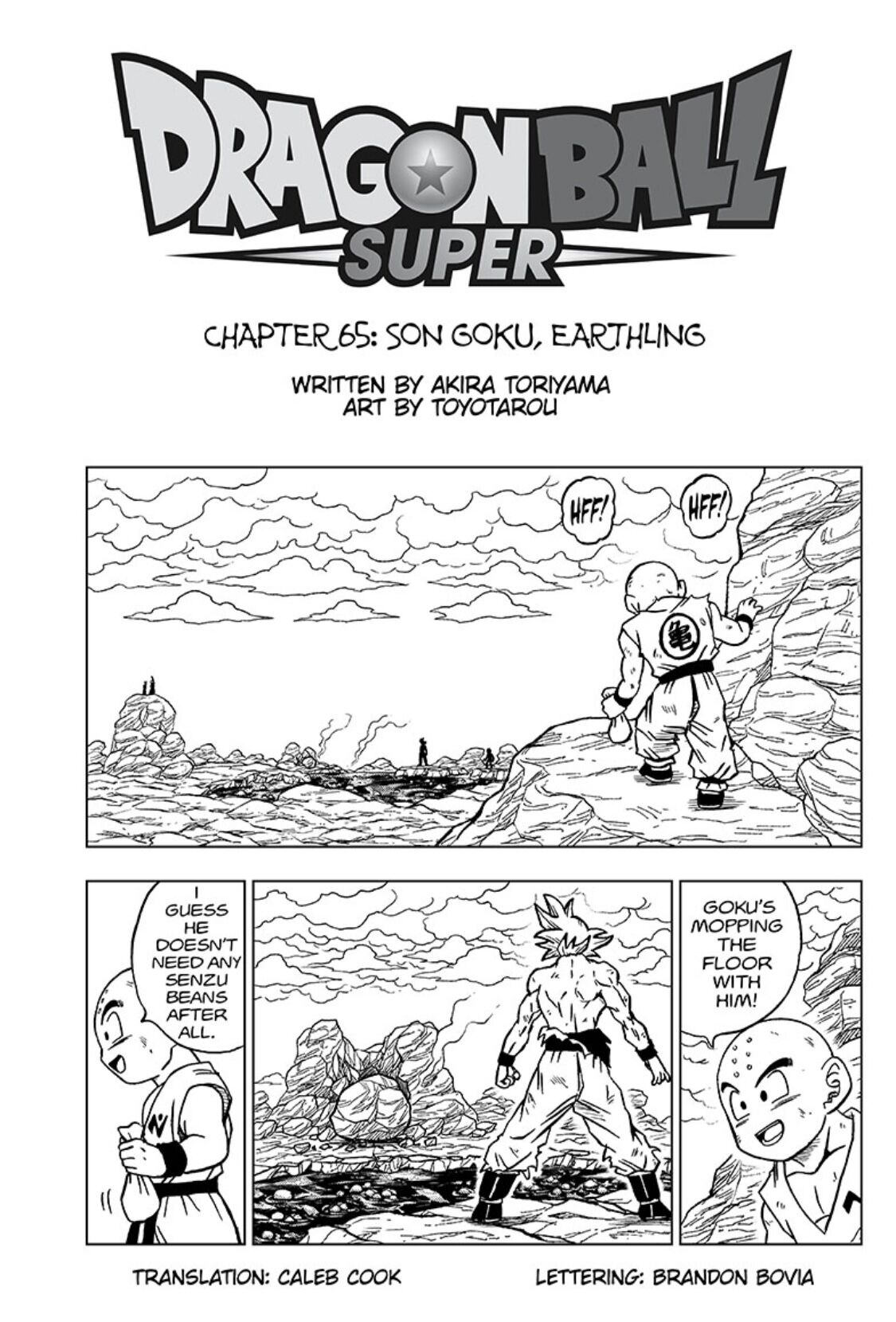 Dragon Ball Super chapter 65