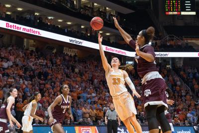 Middleton, Jackson performing well in new roles despite Lady Vols struggle