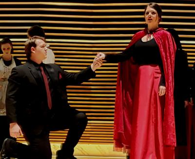 UT students portray characters from Mozart's classic opera
