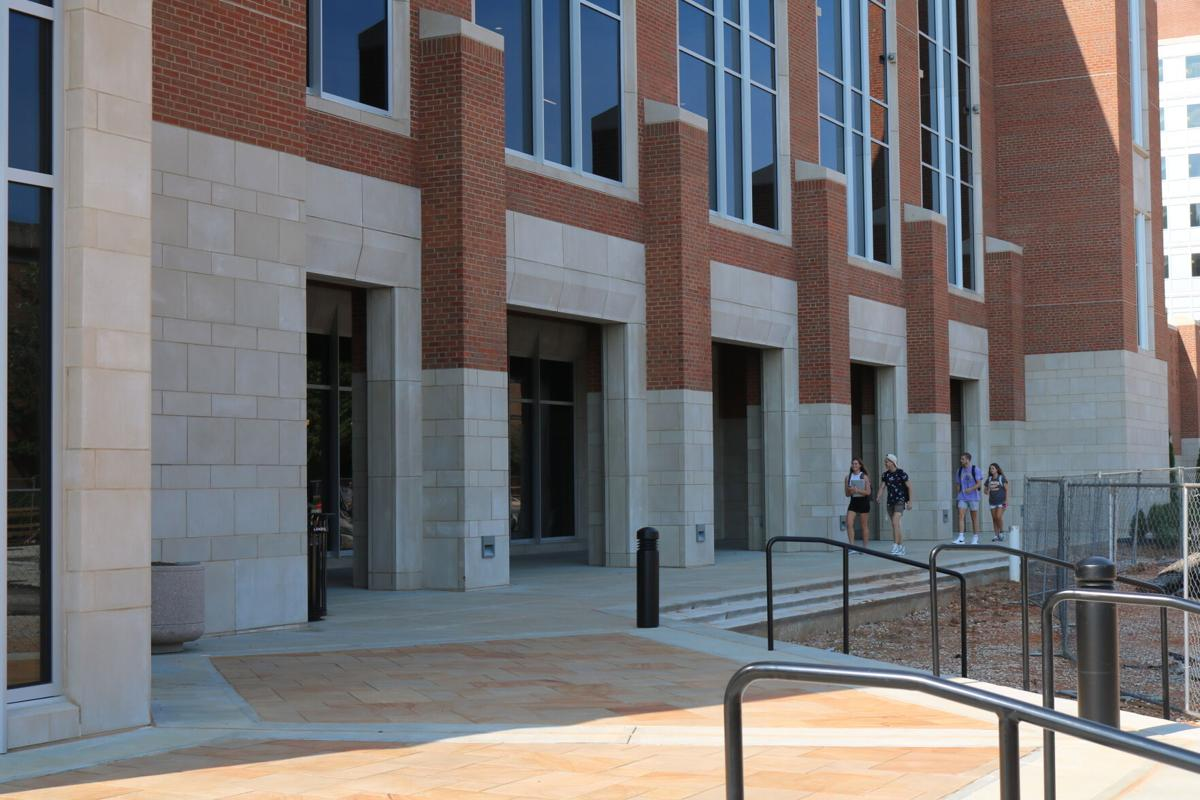 Entrance to West Campus Dining Hall