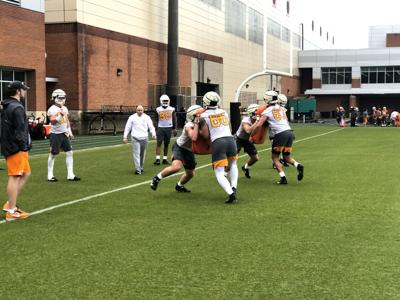March 10 Football Spring Practice