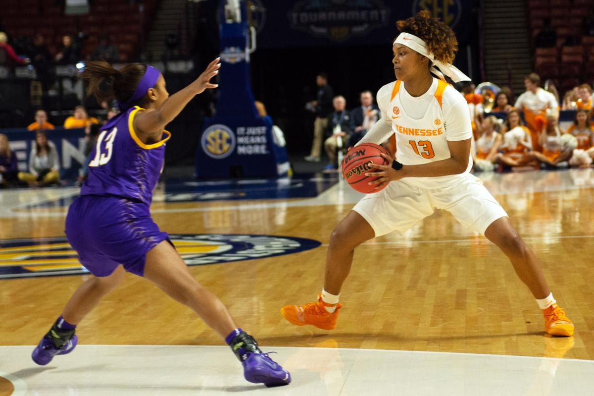 Women's SEC Tournament vs. LSU