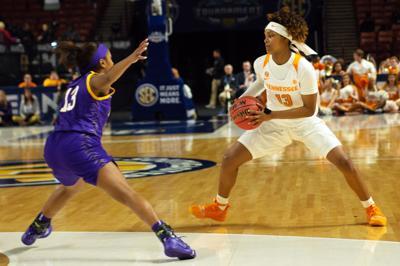 Women's SEC Tournament vs. LSU