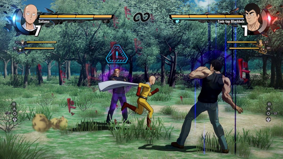 One Punch Man Screenshot