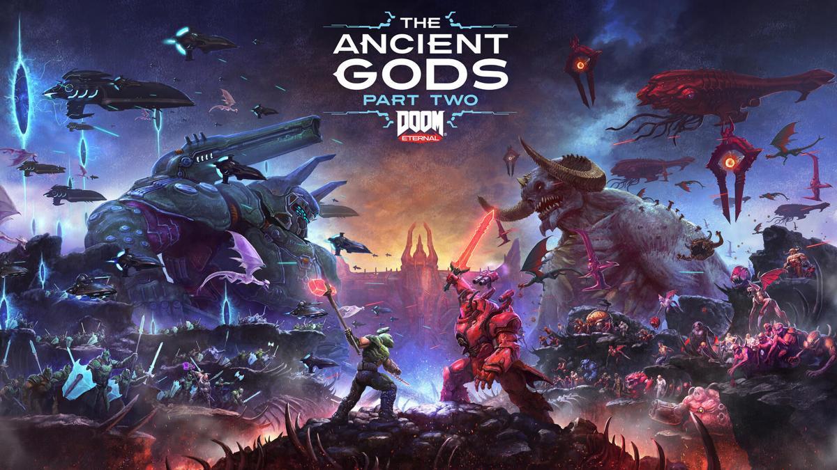 Doom Eternal the ancient gods part 2 cover
