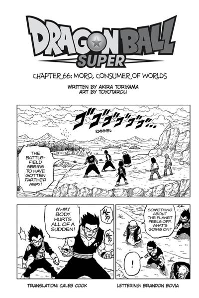 Dragon Ball Super Ch 66