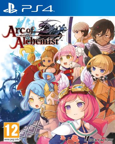 Arc of Alchemist Cover