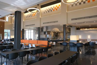Daily Beacon's design editor reviews new West Campus Dining Hall