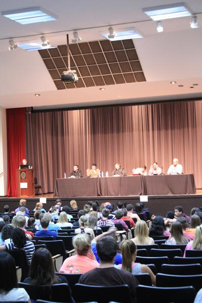 Religion, sex panel pushes past stereotypes
