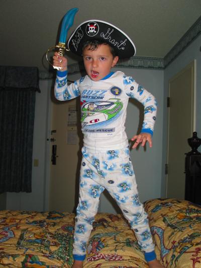 Grant Mitchell's Pirate
