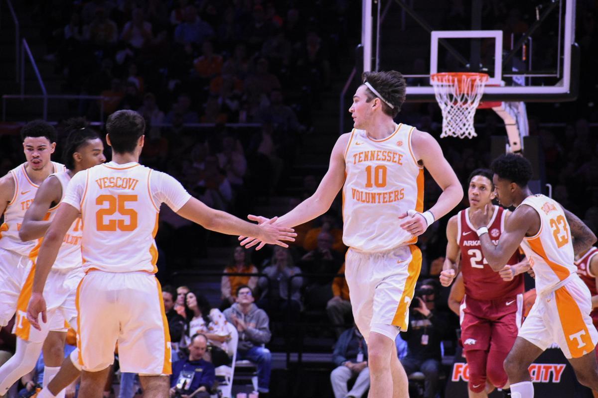 Vols Basketball vs Arkansas