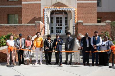 Black trailblazers cut ribbons on residence halls renamed in their honor