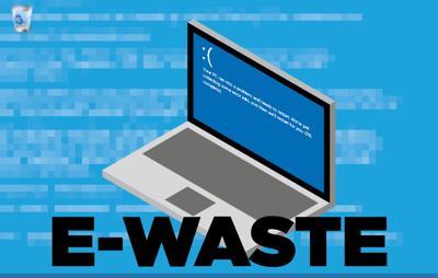 e-waste graphic