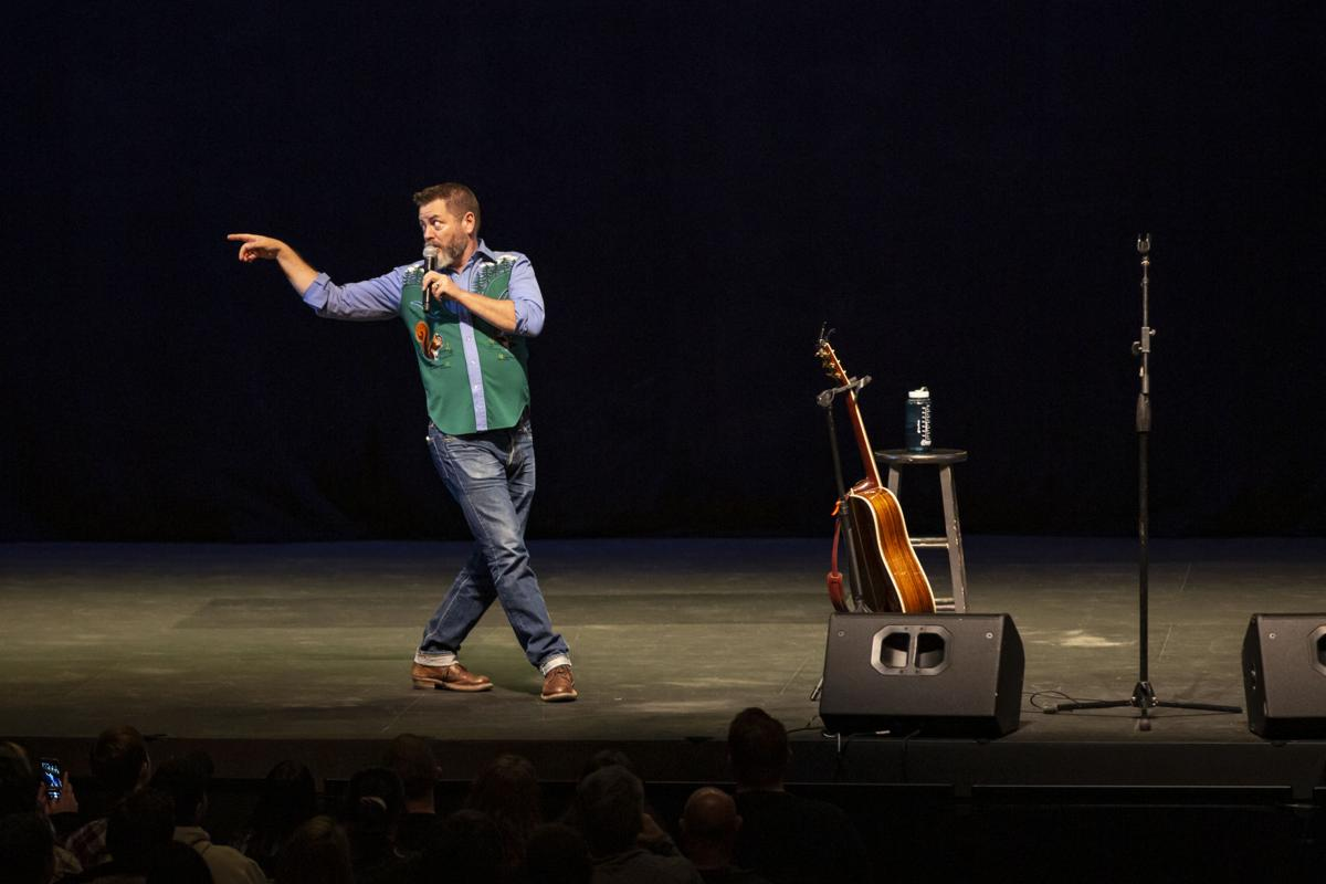 Nick Offerman at the Knoxville Civic Auditorium
