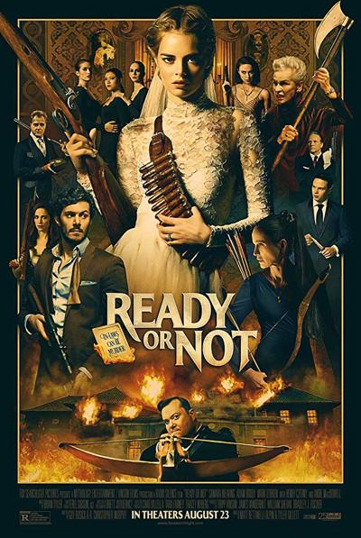 Movie poster for 'Ready or Not'