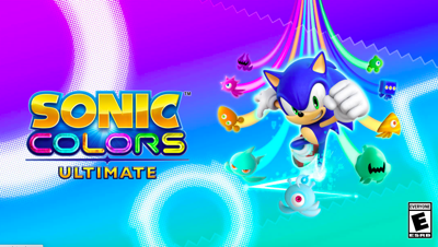sonic colors ultimate poster
