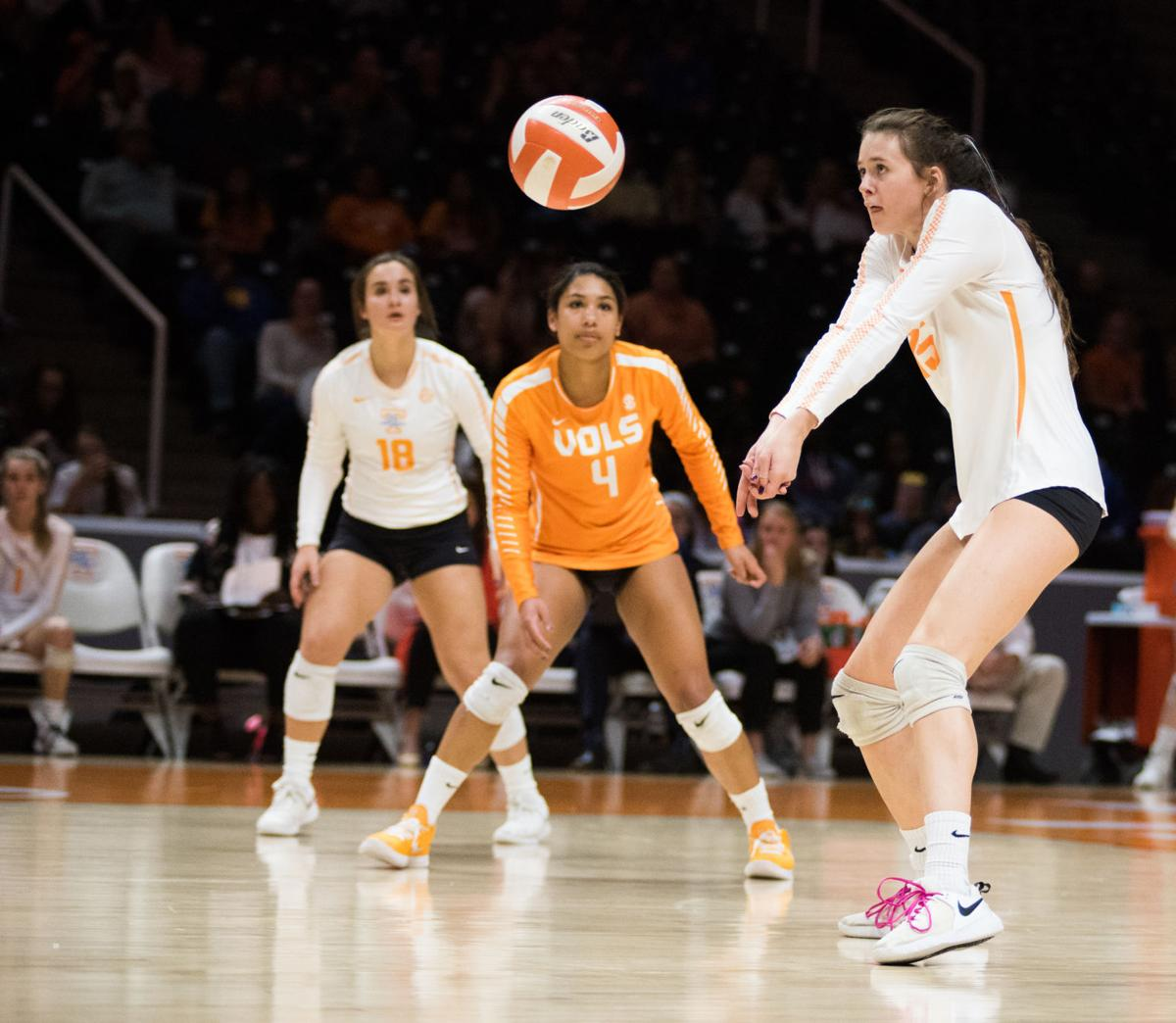Tennessee Excited For Different 2020 Season Volleyball Utdailybeacon Com