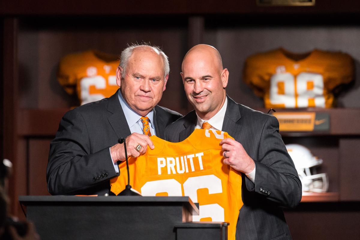 Jeremy Pruitt hired as Vols' new head coach   Sports ...