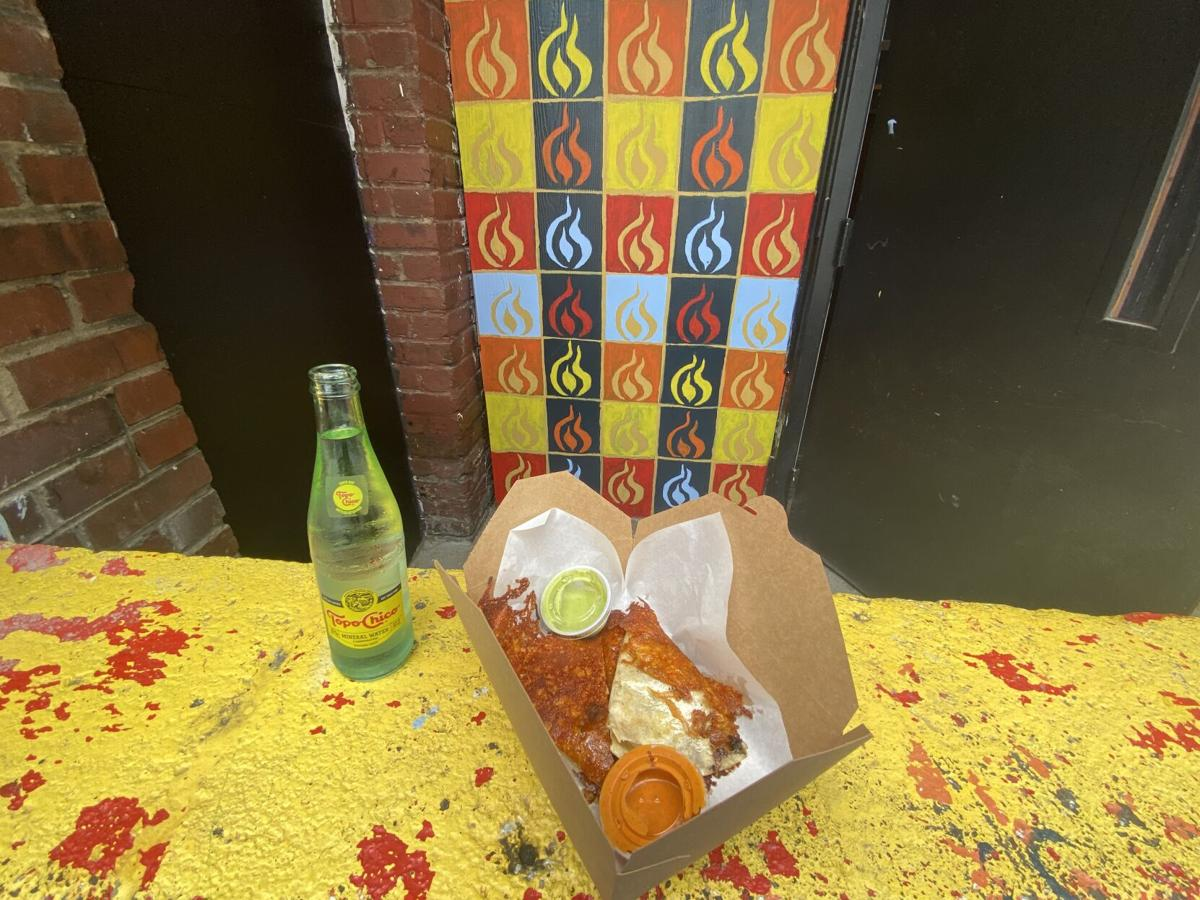 Fuego's tacos meal