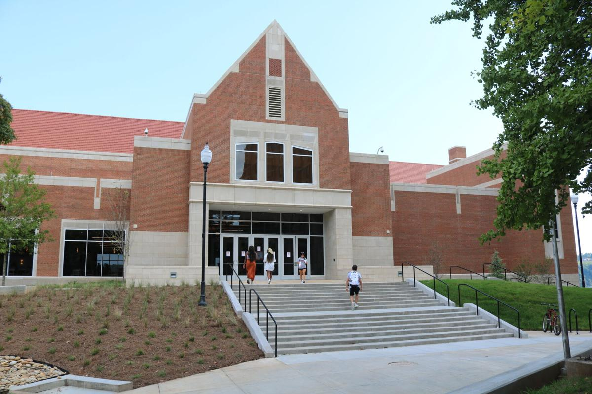 West Campus Dining Hall Entrance