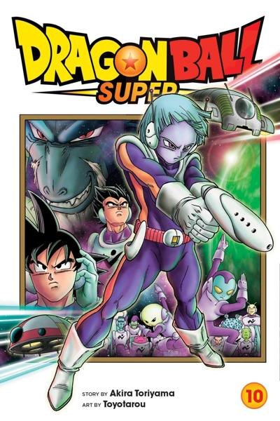 Dragon Ball Super Vol 10 Cover