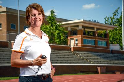 KNOXVILLE, TN - Director of Track and Field and Cross Country Beth Alford-Sullivan