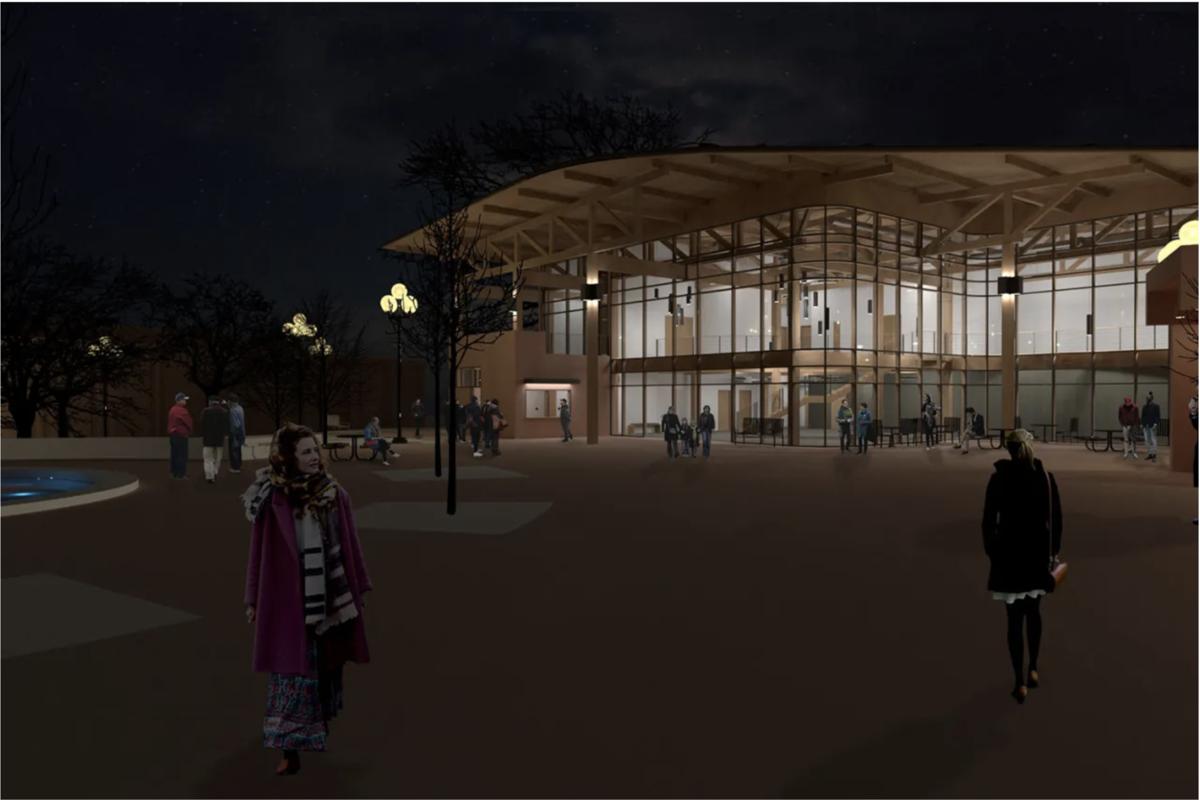New Carousel Theatre design