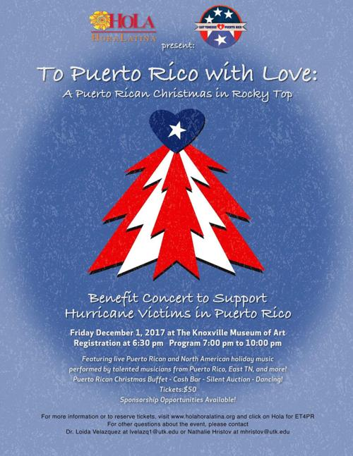 benefit concert to bring puerto rican culture to rocky top local news utdailybeaconcom - Puerto Rican Christmas Music