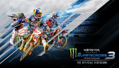 Monster Energy Supercross 3 logo