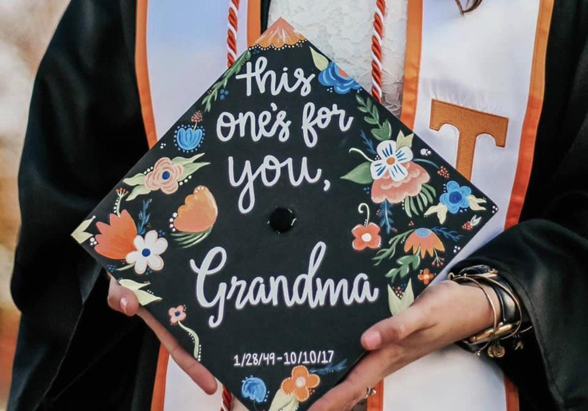 This One's For You, Grandma Graduation Cap
