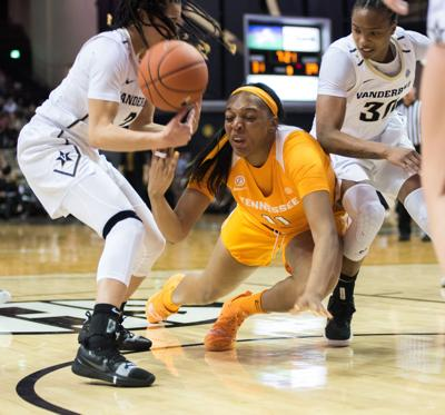 Lady Vols against Vanderbilt