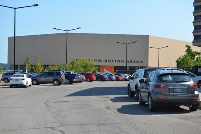 Thompson-Boling Arena and parking