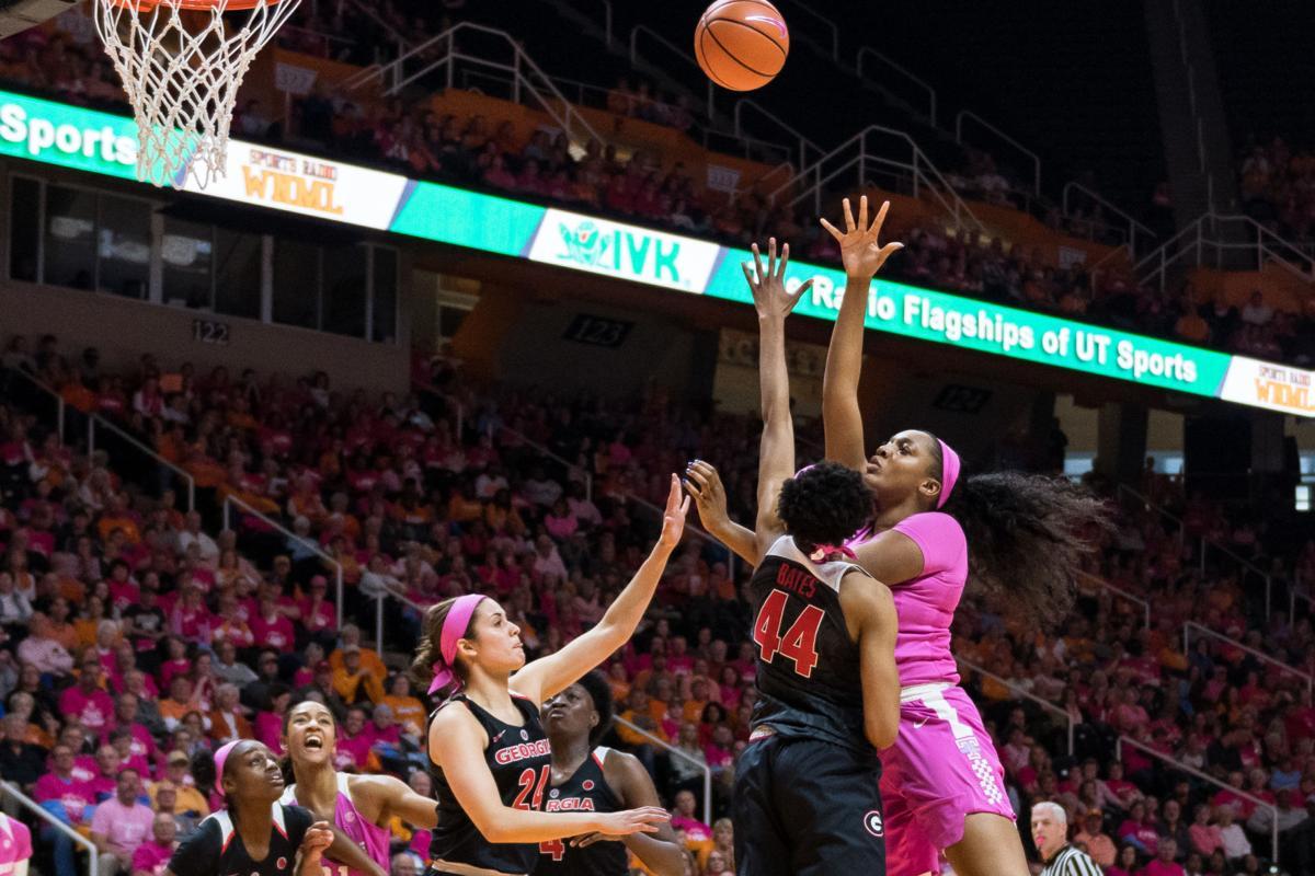 Women's basketball vs Georgia