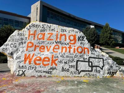 Hazing Prevention Rock