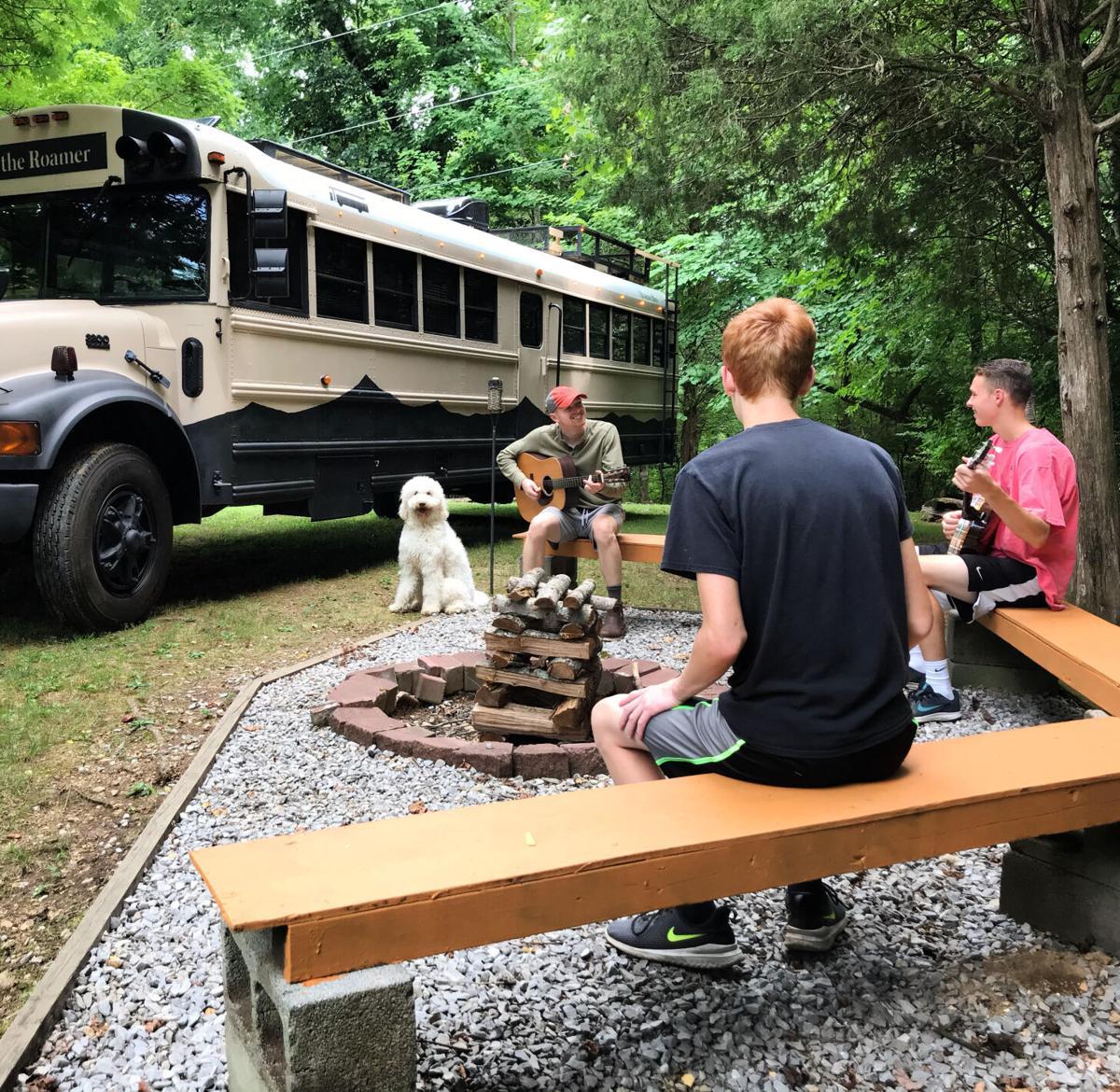 Campfire Bus Life