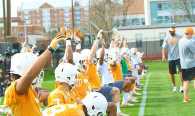 Offensive line hopes to display off-season progress during spring practice