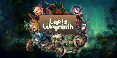 Lapis x Labyrinth Game Poster