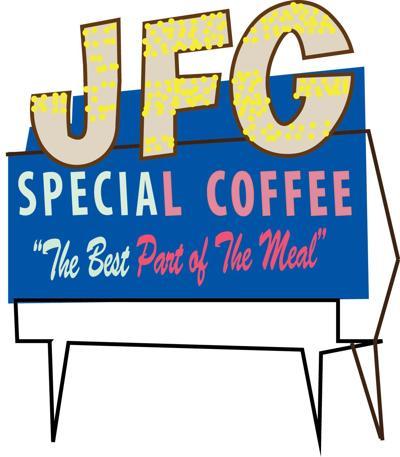 JFG sign icon