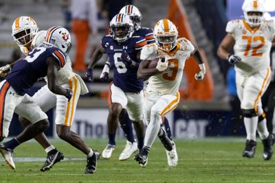 Eric Gray - Tennessee vs. Auburn