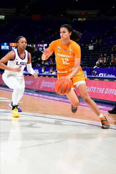 Rae Burrell- UT at LSU