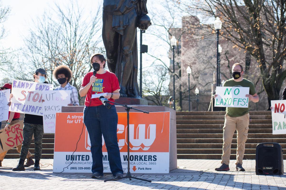 UCW protest