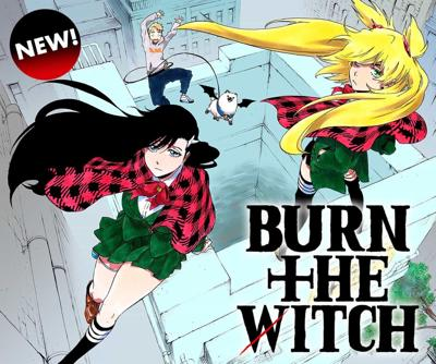 Burn the Witch Cover 2