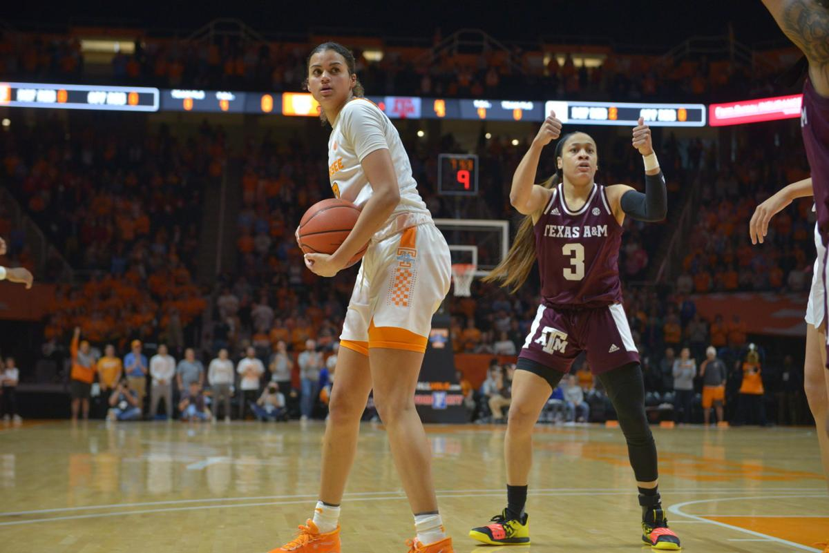 Lady Vols Basketball vs Texas A&M